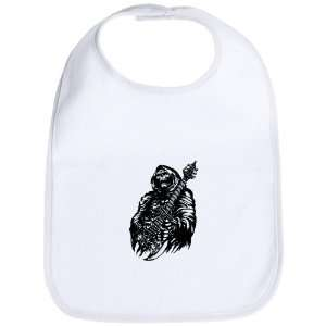 Bib Cloud White Grim Reaper Heavy Metal Rock Player