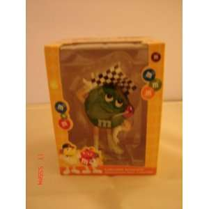 M&Ms Racing Green Christmas Ornament New with box