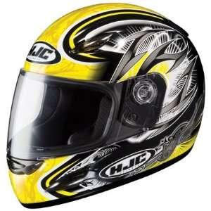HJC CS Y Youth Hellion Full Face Motorcycle Helmet MC 3 Yellow Large L
