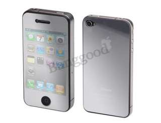 For iPhone 4 4S 4G Mirror Full Body (Front+back) Screen Guard