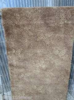 Vintage hollywood regency 40s Bigelow weavers woven carpet rug runner