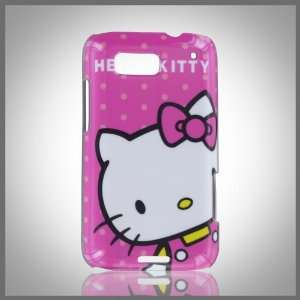 Kitty Pink Dots Images hard case cover for Motorola Defy MB525 ME525