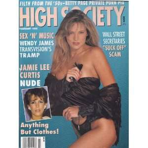 HIGH SOCIETY MAGAZINE (FEBRUARY 1992): HIGH SOCIETY