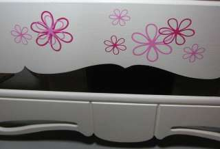 Girls Wall Vinyl Flower Stickers Decal Daisy Floral 6