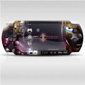 Iron Man Decorative Protector Skin Decal Sticker for PSP