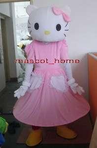 Professional Kitty Cat Mascot Costume Cartoon Suit