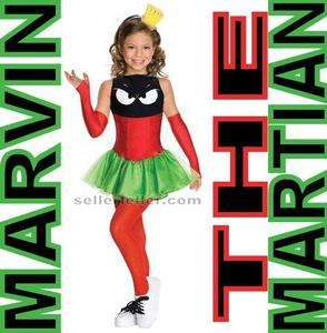Marvin the Martian Child Halloween Costume M Medium 8   10