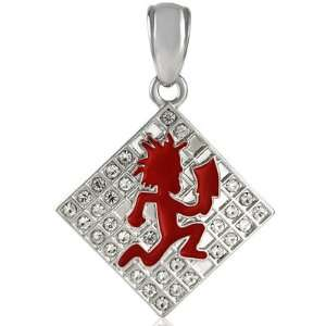 : Officially Licensed Charm ICP Juggalo Hatchet Man Pendant: Jewelry