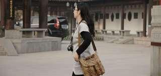 Green Brown COURSER DSLR Camera Shoulder Rucksack Backpack Bag Canon