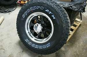 16 Ion 171 Black Hankook Dynapro AT M 265 75 Chevy 2500 3500 Wheels