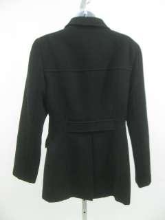 JENNE MAAG Black Wool Jacket Coat Blazer SZ S