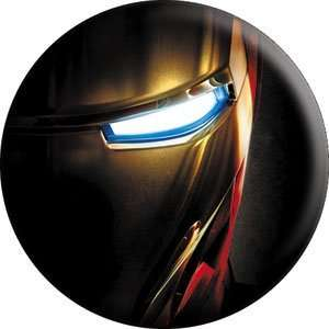 Marvel Iron Man Movie Button B IRN 0004 Toys & Games
