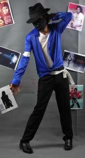 Michael Jackson Live Show WayYouMakeMeFeel Blue Shirt Armband MJ