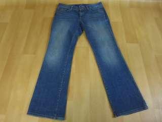 ANN TAYLOR LOFT Womens Original Boot Cut Jeans 10 P