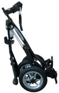 LINKSMAN GOLF X7 LITE 3 SPEED THREE WHEEL GOLF PUSH PULL CART TROLLEY