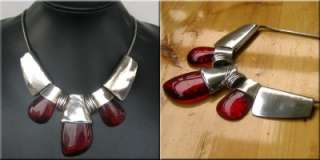 NEW IN TIBET STYLE TIBETAN SILVER AGATE NECKLACE