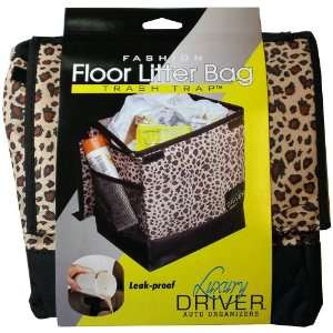 Luxury Driver 12484 Leopard Fashion Floor Litter Bag Trash