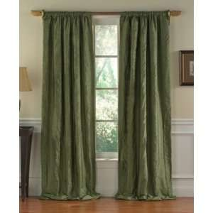 M & J Window Treatments Venetto 96 Panel Sage Green Home