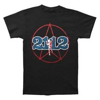 2112 Starman 2 sided Black Lightweight 1976 Tour T Shirt Clothing