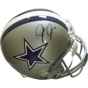 Julius Jones Dallas Cowboys Replica Helmet AS IS