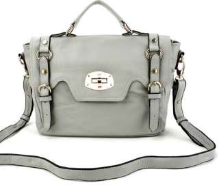 Genuine Leather Purse Messenger Bag Handbag Tote 7color