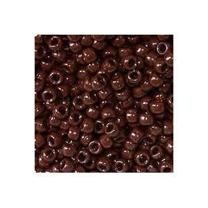 Brown Pony Beads 9x6mm 500pc: Home & Kitchen