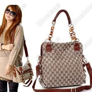 Korean Fashion Noble Womens Girls Authentic Canvas Handbag Bag