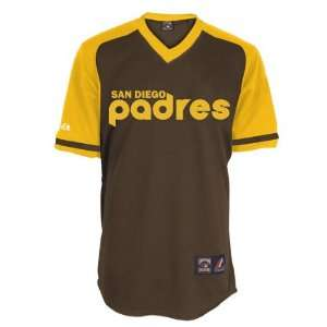 San Diego Padres Cooperstown Throwback Brown Fan Replica Jersey