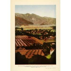 1912 Print Los Angeles Nature Agricultural Farm Land