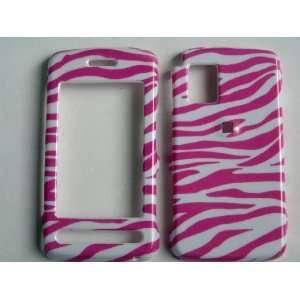 New Pink and White Zebra Stripe Pattern Design Samsung