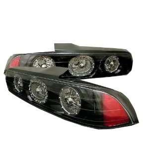 Acura Integra 94 01 2Dr LED Tail Lights   Black