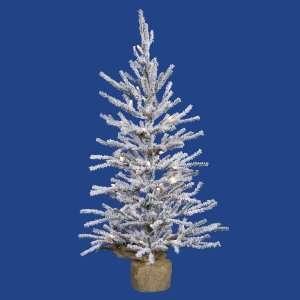 30 x 16 Flocked Angel Pine Christmas Tree w/ 319T