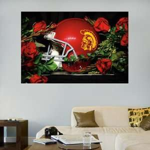 USC Fathead Wall Graphic Trojans Roses Mural Sports