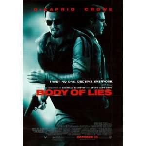 Body of Lies Double sided Poster Print, 27x41 Home & Kitchen