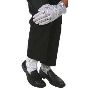 Michael Jackson Sequin Glove & Socks Costume Package  Toys