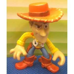 Disney Toy Story Woody Hero 2 Figure Cake Topper Doll Toy