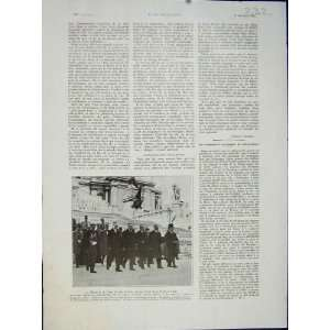 Paris Rome Patrie Delegation Military French Print 1932