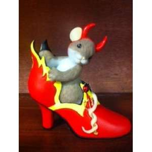 Charming Tails Youre The Fire In My Sole Figurine 4023631