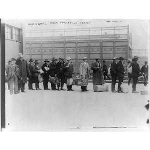 Ellis Island,New York,N.Y.,immigrants from Princess Irene,1911