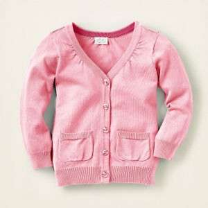 new NWT CHILDRENS PLACE girls Button Cardigan Sweater
