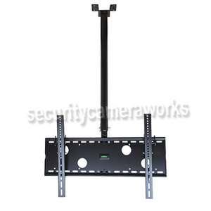 LCD Plasma Flat Panel Tilt TV Ceiling Mount 37  63 b86