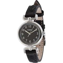 Casual Black Leather Strap Watch    BOTH Ways
