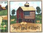 AMERICAN DREAM COUNTRY FARM AMERICANA DISCONTINUED WALLPAPER BORDER