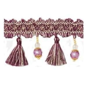 Pearl & Crystal Tassel Fringe Trim Arts, Crafts & Sewing