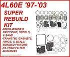 4L60E TRANSMISSION SUPER REBUILD KIT 97 03 BORG WARNER