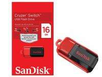New Sandisk Cruzer Switch 16GB 16 GB USB Flash Memory Pen Drive SDCZ52