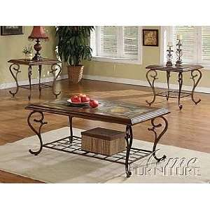 Acme Furniture Coffee End Table 3 piece 10015 Set: Home