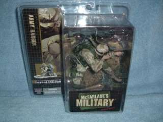 ARMY RANGER Series Debut 1 McFarlane Military 2005 MISP 787926602067