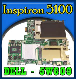 Dell Inspiron 5100 Intel MotherBoard 5W609 / 9U743
