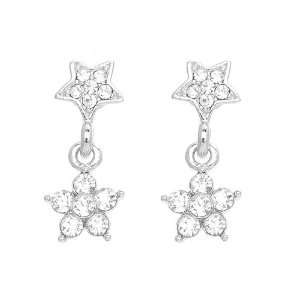 Perfect Gift   High Quality Twinkling Star Earrings with